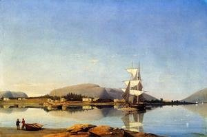 Fitz Hugh Lane - Entrance to Somes Sound from Southwest Harbor