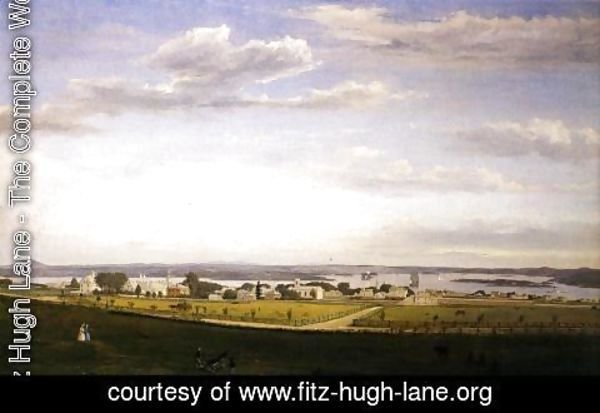 Fitz Hugh Lane - Castine from Fort George