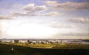 Castine from Fort George