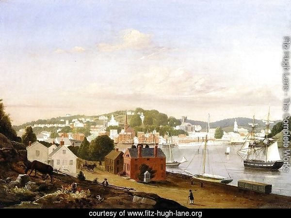 View of Norwich, Connecticut
