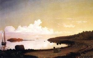 Fitz Hugh Lane - The Westen Shore with Norman's Woe