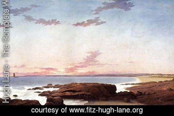 Fitz Hugh Lane - Ipswich Bay