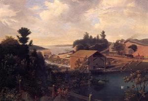 Fitz Hugh Lane - Lanesville, the Mill