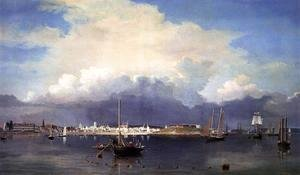 Fitz Hugh Lane - Gloucester Harbor