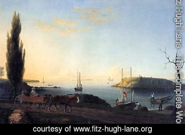 Fitz Hugh Lane - Good Harbor Beach, Cape Ann