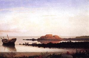 Fitz Hugh Lane - Brace's Rock