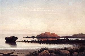 Fitz Hugh Lane - Brace's Rock I