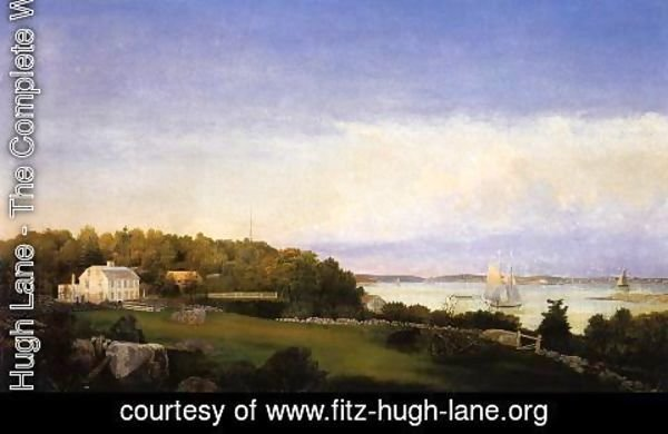 Fitz Hugh Lane - Sawyer Homestead