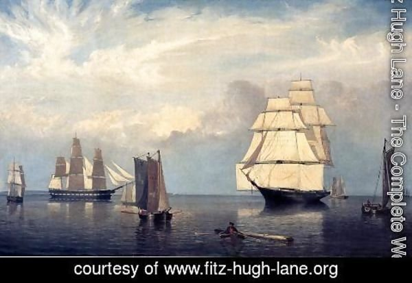 Fitz Hugh Lane - Salem Harbor