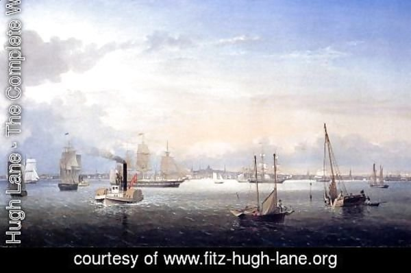 Fitz Hugh Lane - Boston Harbor I