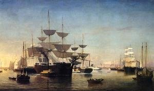 Fitz Hugh Lane - New York Harbor