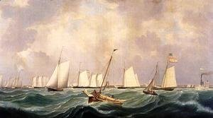Fitz Hugh Lane - New York Yacht Club Regatta