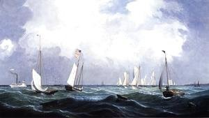 Fitz Hugh Lane - New York Yacht Club Regatta I
