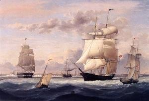 Fitz Hugh Lane - New York Harbor I