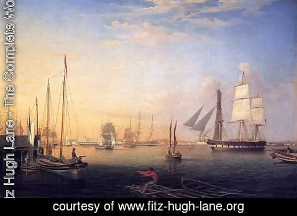 Fitz Hugh Lane - Baltimore Harbor