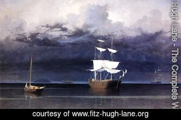 Fitz Hugh Lane - Approaching Storm