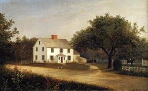 Fitz Hugh Lane - Old Stevens Homestead, Castine