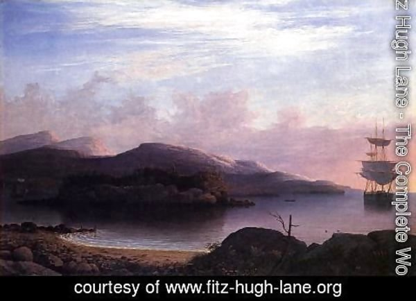 Fitz Hugh Lane - Off Mount Desert