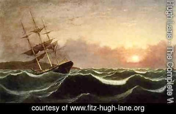 Fitz Hugh Lane - Sunset after Storm