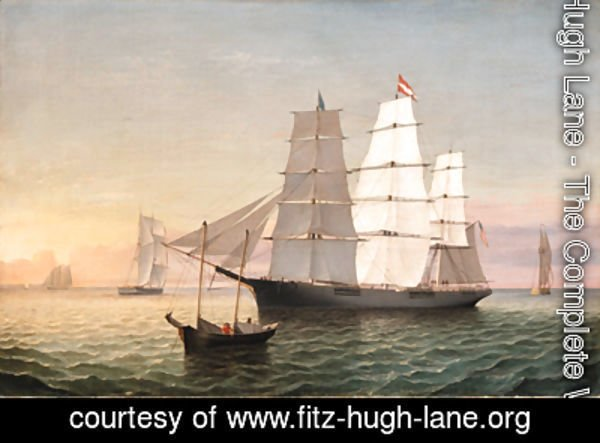 Fitz Hugh Lane - The Golden Rule
